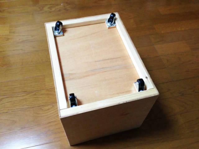 お道具箱の作り方 ラワンベニヤをオイルフィニッシュ