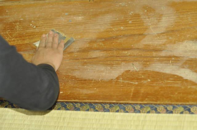 家具の細かい傷を直すのに便利|HAWARD ハワード オレンジオイル
