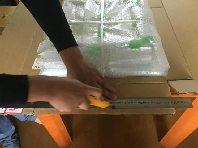 箱の作り方|段ボールとプチプチを使った梱包の方法