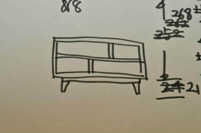 TV台のデザイン