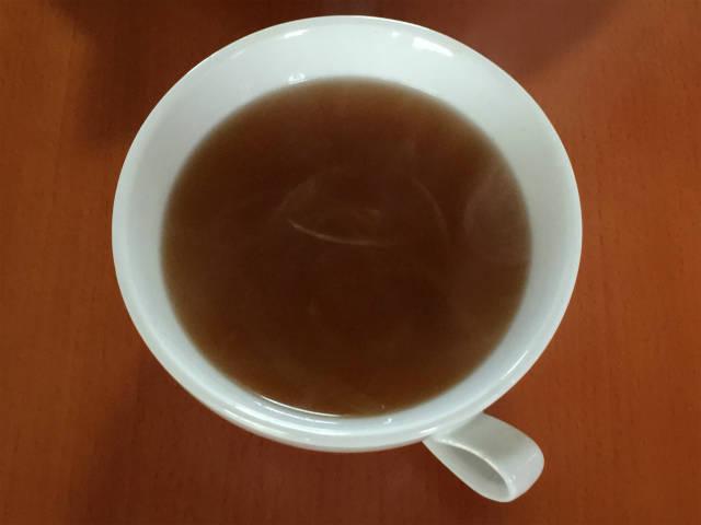 ベジブロスを使ったオニオンスープ