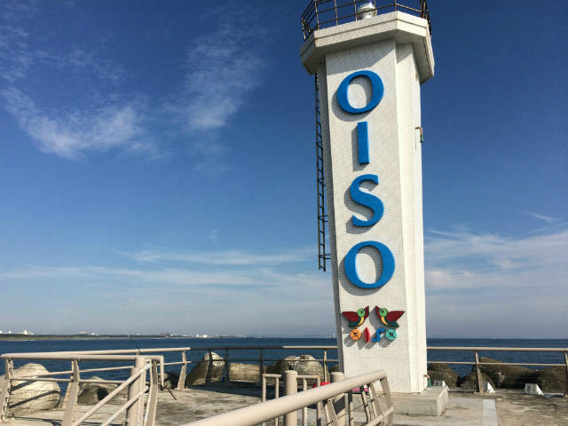 大磯のデザイン灯台