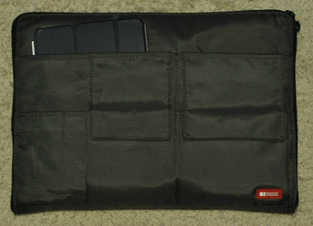 リヒトラブ バッグインバッグ 黒 A4