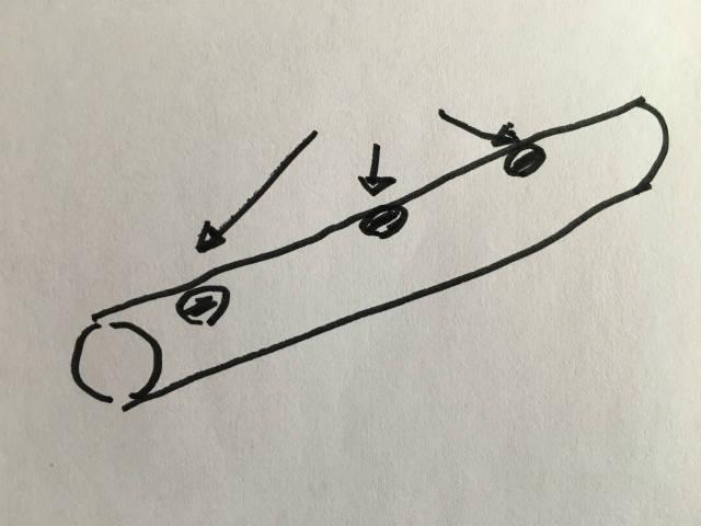 押し入れと床の間をワードローブに改造