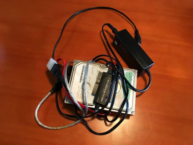 外付けHDD(ハードディスク)のHDDを交換をした話