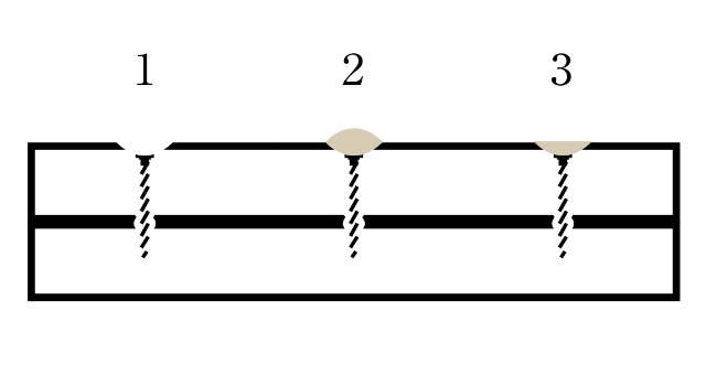 ネジの頭を隠す方法|エポキシパテで埋める