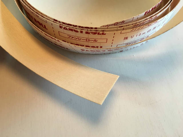 木口テープ|シナファンシーロール