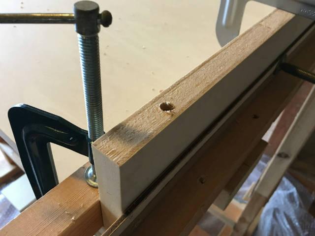 板の断面加工