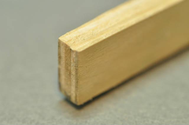 初めてでもキレイに貼れた!木口テープの貼り方