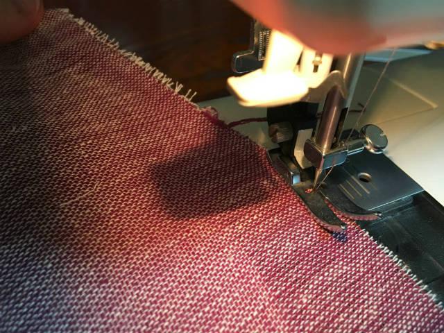 ジグザグ縫い